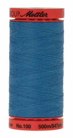0022 Wave Blue LARGE Metrosene Poly Thread 50wt 547yds  Mettler