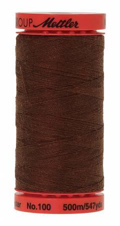 Metrosene Poly Thread 50wt 500m/547yds Redwood Old Number 1145-0839