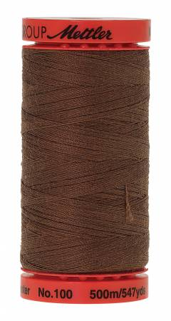 Metrosene Poly Thread 50wt 500m/547yds Hazelnut