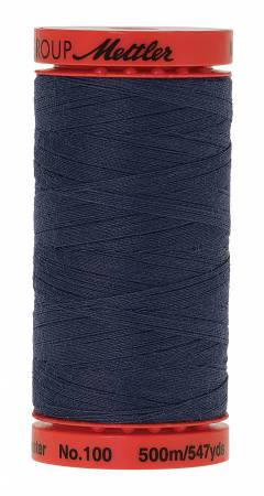 Mettler Metrosene 0311 Blue Shadow 100% Poly Thread 50wt 500m/547yds