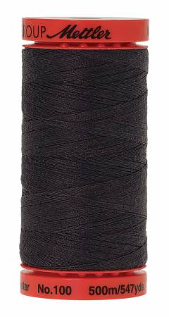 Metrosene 0348 Poly Thread 50wt 500m/547yds Mole Gray Old Number 1145-0710