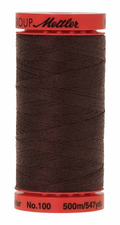 Mettler Metrosene 0428 Chocolate 100% Poly Thread 50wt 500m/547yds