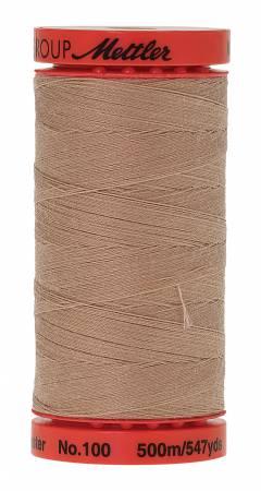 Metrosene Poly Thread 50wt 500m/547yds Straw Old Number 1145-0731
