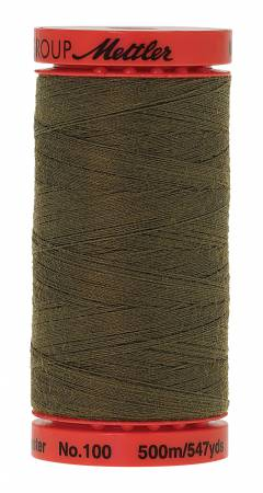 Metrosene Poly Thread 50wt 500m/547yds Umber Old Number 1145-0542