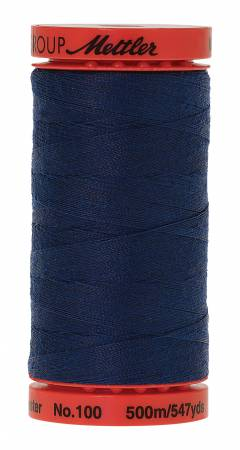 0823 Night Blue LARGE Metrosene 500m/547yds 50wt Poly Thread