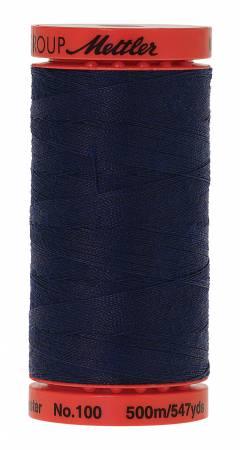 Metrosene Poly Thread 50wt 500m/547yds Navy Old Number 1145-0916
