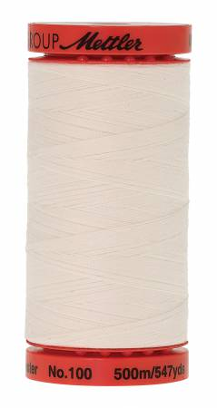 1000 Eggshell LARGE Metrosene50wt Polyester Thread  Plus 547yds