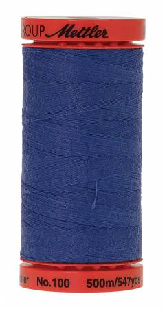 Metrosene 1301 Poly Thread 50wt 500m/547yds Nordic Blue Old Number 1145-0556