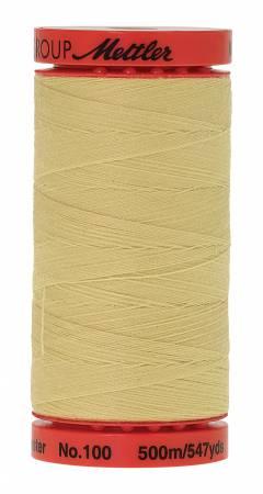 1412 Lemon Frost LARGE Metrosene Poly Thread 50wt 500m/547yds  Mettler