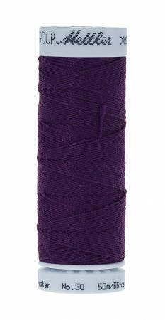 Metrosene Cordonnet Poly Thread 30wt 50m/55yds Deep Purple Old Number 1146-0581