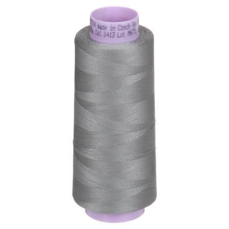 Silk Finish 50wt Cotton Thread 2000yd/1829M Titan Gray