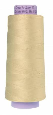 Silk Finish 50wt Cotton Thread 2000yd/1829M Antique White