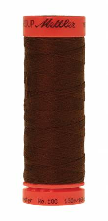 Metrosene Poly Thread 50wt 150m/164yds Rust Old Number 1161-0528