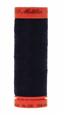 Metrosene Poly Thread 50wt 150m/164yds Blue Black Old Number 1161-0793