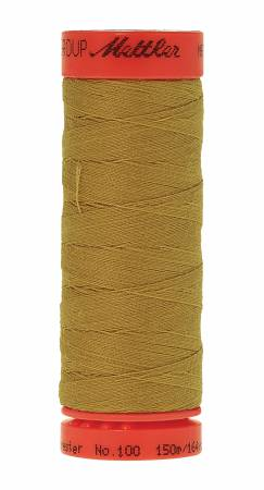 1102 Metrosene Poly Thread 50wt 150m/164yds Ochre Old Number 1161-0719