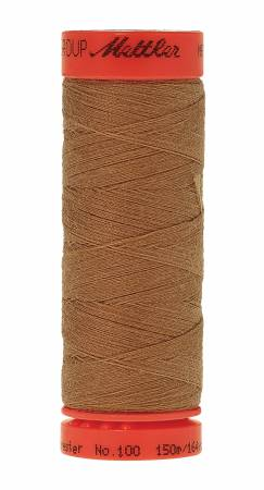 11210Metrosene Poly Thread 50wt 150m/164yds Toffee Old Number 1161-0517