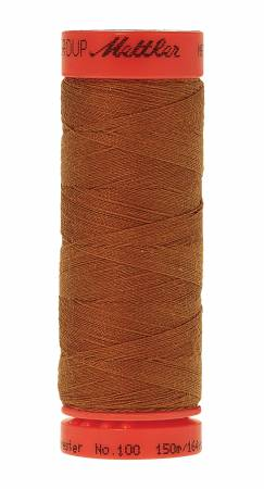 1131 Metrosene Poly Thread 50wt 150m/164yds Brass Old Number 1161-0658