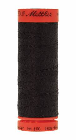 Metrosene Poly Thread 50wt 150m/164yds Obsidian Old Number 1161-0700
