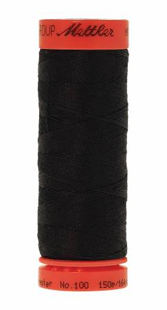 Metrosene Poly Thread 50wt 150m/164yds Black Old Number 1161-0003
