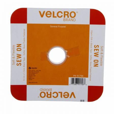 VELCRO® Soft & Flex Sew-In Black 5/8in