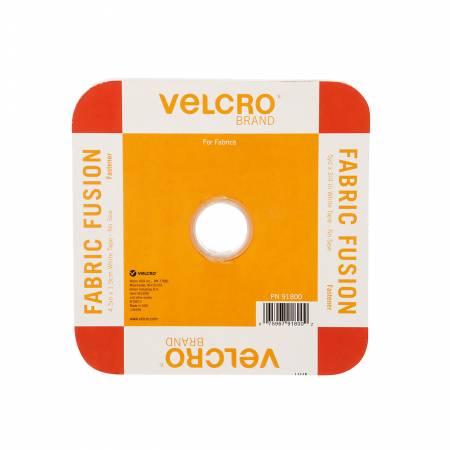VELCRO® Brand Fastener Iron On 3/4in x 15ft White Tape