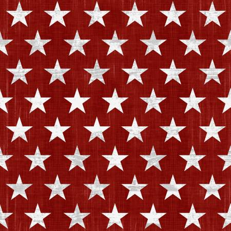 Live Free Red Stars<br/>Henry Glass 9183-81