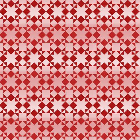 Holiday Heartland -  Small Monotone Quilt Pattern