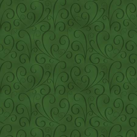 Holiday Heartland - Green Tonal Swirl