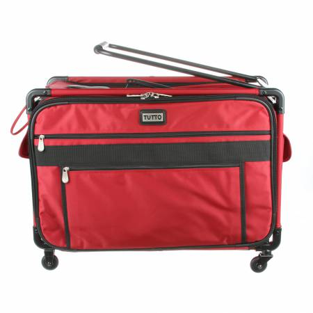 Tutto Machine Case On Wheels Extra Large 24in Cherry Red