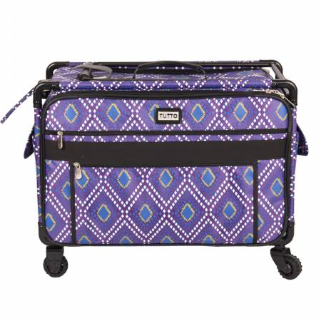 Tutto Machine Case on Wheels 1XL 24 in -Purple Diamond