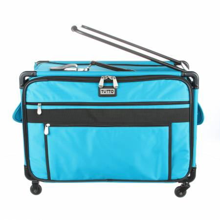 TUTTO Monster Machine on Wheels XL Luggage Teal