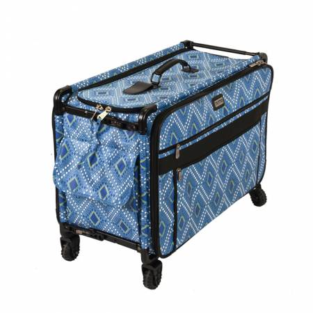 Tutto Machine Case on Wheels 1XL 24 in - Blue Diamond