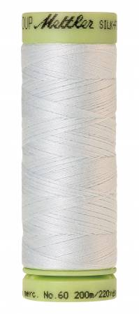Silk-Finish 60wt Solid Cotton Thread 220yd/200M Glacier Green