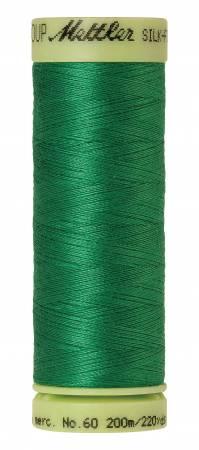 Silk-Finish 60wt Solid Cotton Thread 220yd/200M Swiss Ivy