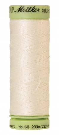 Silk-Finish 60wt Solid Cotton Thread 220yd/200M Muslin