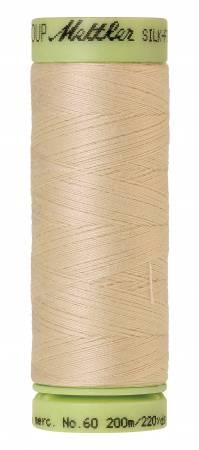 Silk-Finish 60wt Solid Cotton Thread 220yd/200M Pine Nut