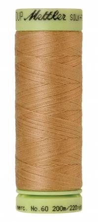 Silk-Finish 60wt Solid Cotton Thread 220yd/200M Toast