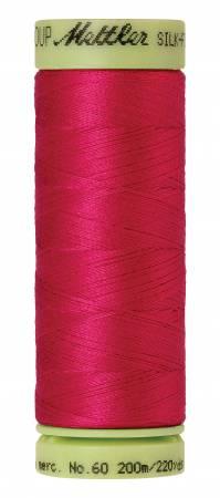 Silk-Finish 60wt Solid Cotton Thread 220yd/200M Fuschia