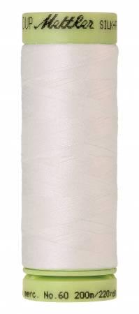 Silk-Finish 60wt Solid Cotton Thread 220yd/200M Candlewick