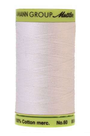 Silk Finish Cotton Embroidery Thread 60wt 170d 875yds White