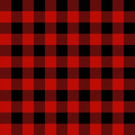 Timber Gnomies Red/Black Buffalo Check