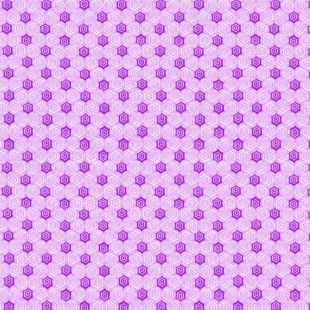 Purple Monotone Geometric 1930's Reproduction
