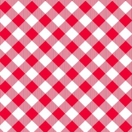 Henry Glass & Co.   by Priscilla Blain   Priscilla's Pretty Plaids   Red/White Bias Buffalo Check   HEG9300-8