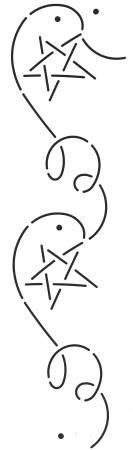 Stencil Millennium Star with Corner