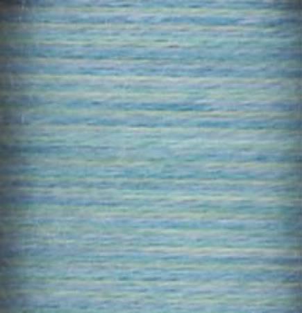 Lana 12 Variegated Thread 12wt 220yd Blue Lagoon