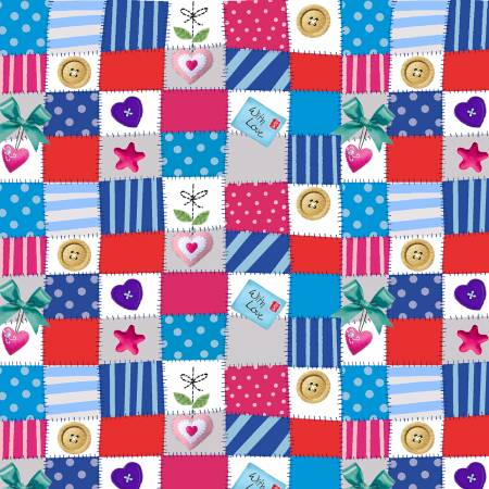 Big Hugs - Multi Mini Patchwork