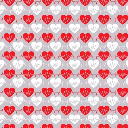 Gray Heart Beat