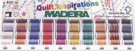 Madeira Cotona 30 Variegated Thread 30wt 440yd