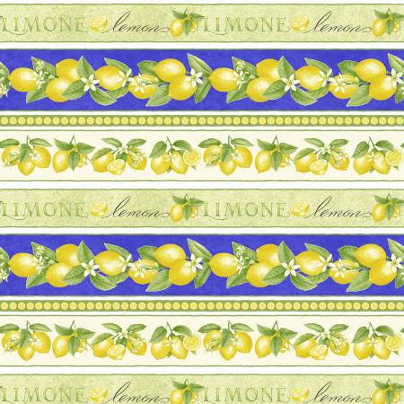 Just Lemons Multi Border Stripe