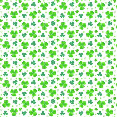Green Tossed  Clover 9368 16